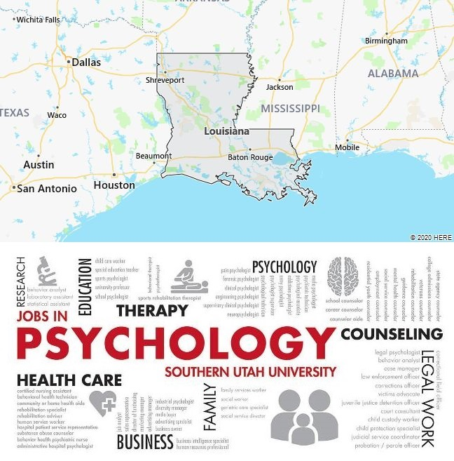 Top Psychology Schools in Louisiana