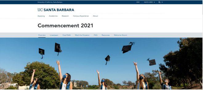 Congratulations Class of 2021 - UC Santa Barbara