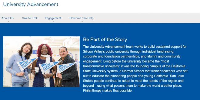 University Advancement - San Jose State University