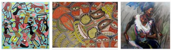 Africa modern arts