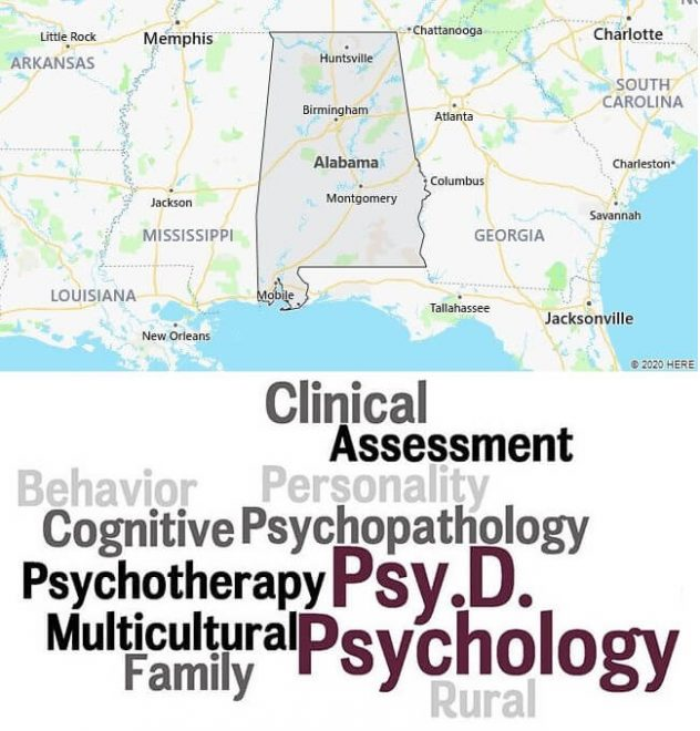 Clinical Psychology Schools in Alabama