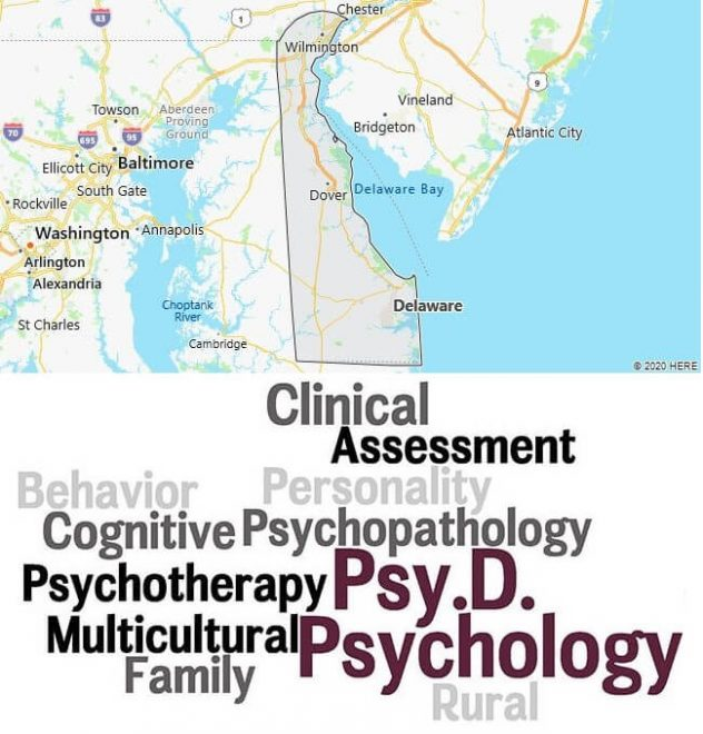 Clinical Psychology Schools in Delaware