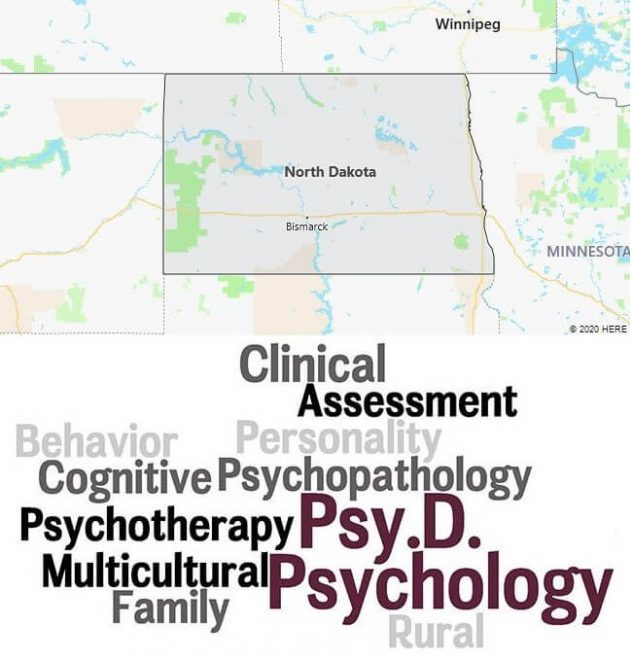 Clinical Psychology Schools in North Dakota