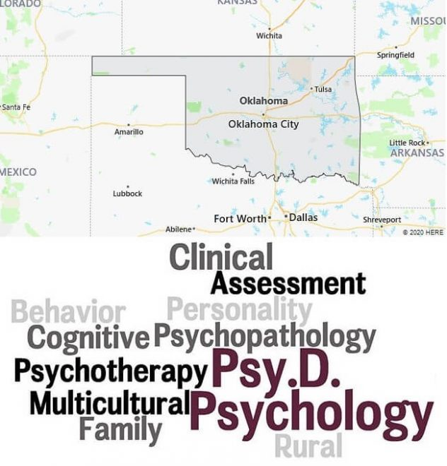 Clinical Psychology Schools in Oklahoma