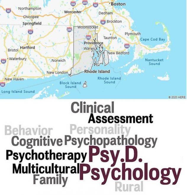 Clinical Psychology Schools in Rhode Island