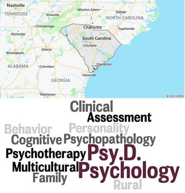 Clinical Psychology Schools in South Carolina