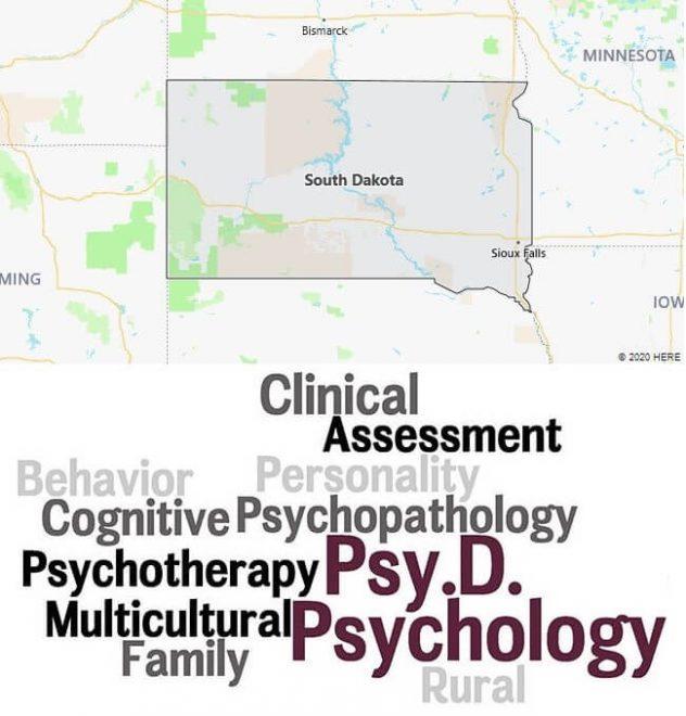 Clinical Psychology Schools in South Dakota