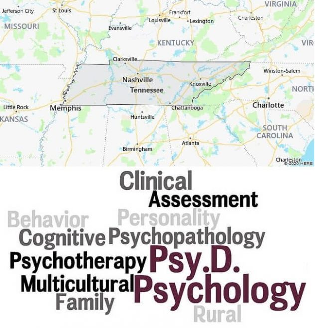 Clinical Psychology Schools in Tennessee