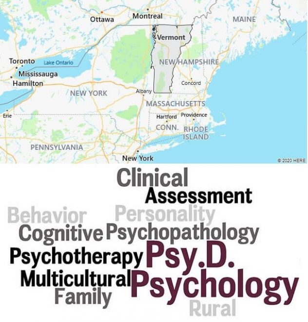 Clinical Psychology Schools in Vermont