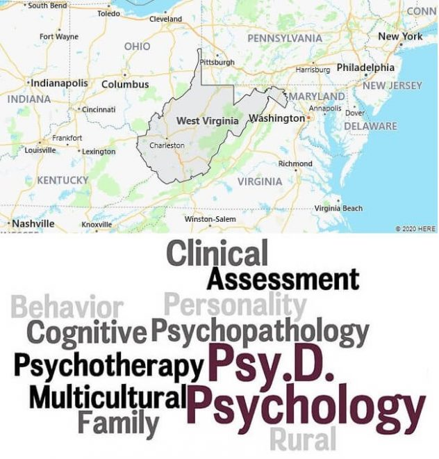 Clinical Psychology Schools in West Virginia