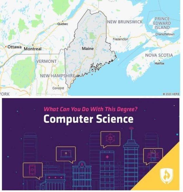 Computer Science Schools in Maine
