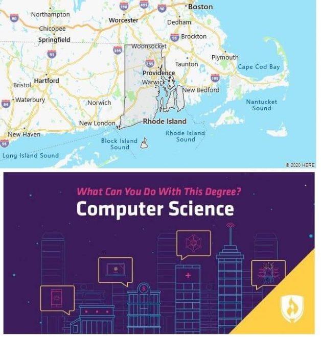 Computer Science Schools in Rhode Island