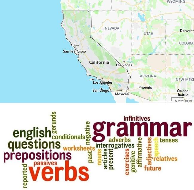 English Schools in California