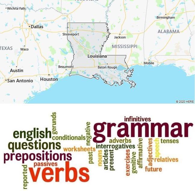 English Schools in Louisiana