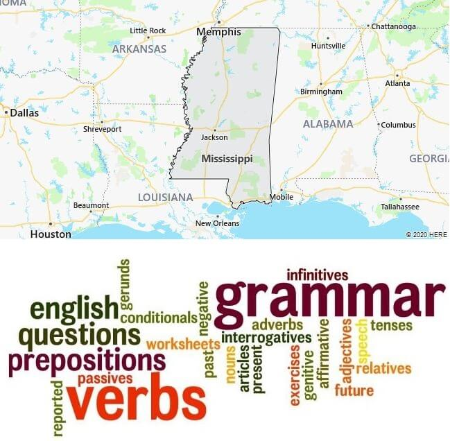 English Schools in Mississippi