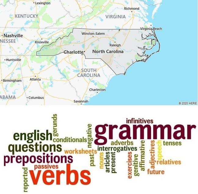 English Schools in North Carolina