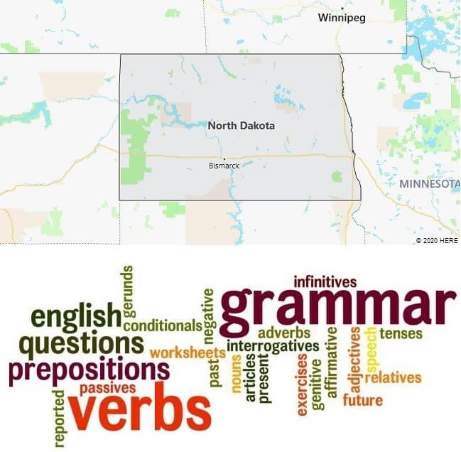 English Schools in North Dakota