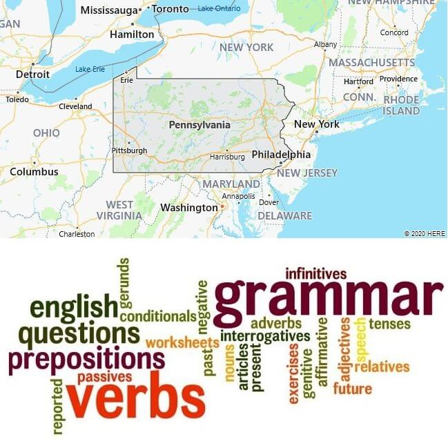 English Schools in Pennsylvania