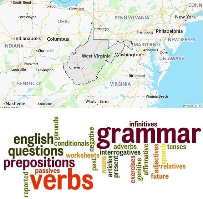 English Schools in West Virginia