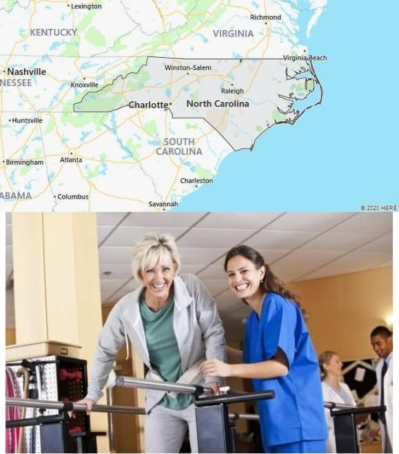 Physical Therapy Schools in North Carolina
