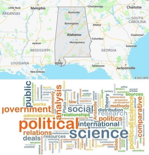 Political Science Schools in Alabama