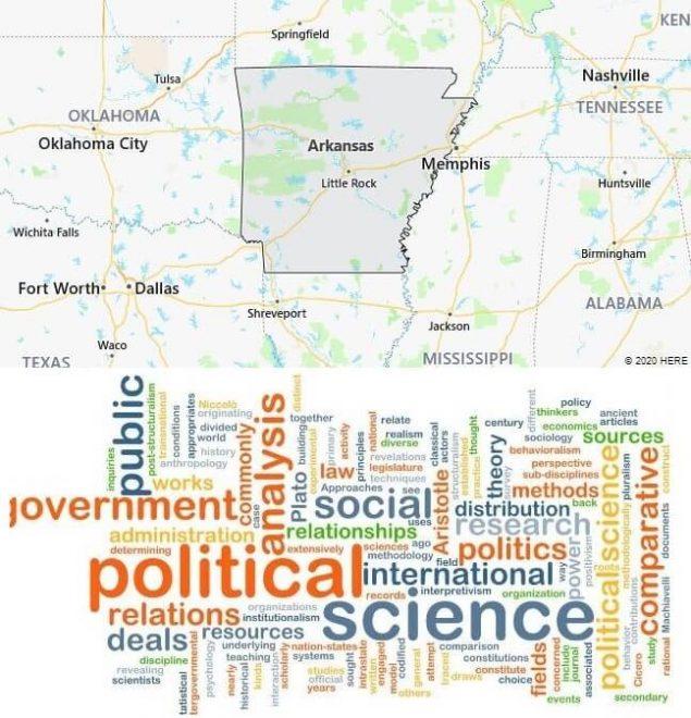 Political Science Schools in Arkansas