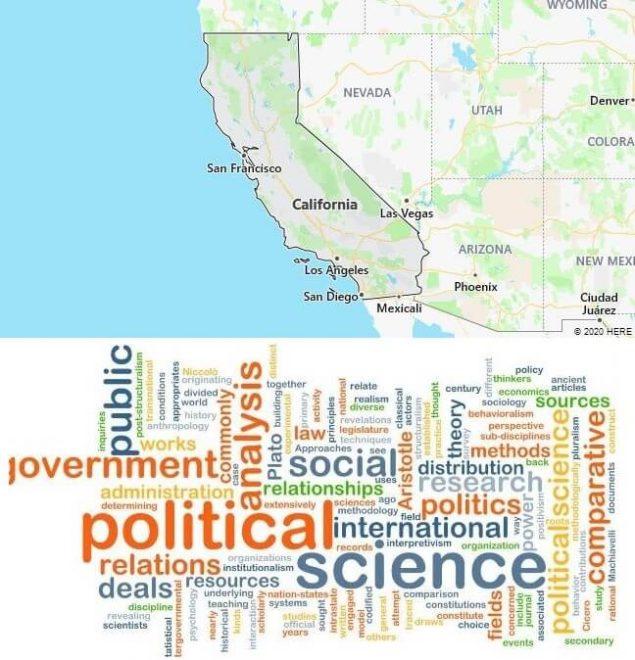 Political Science Schools in California