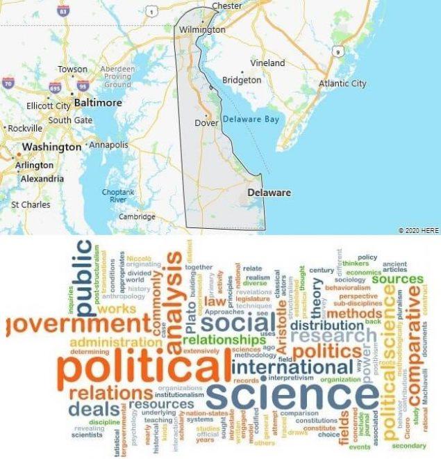 Political Science Schools in Delaware