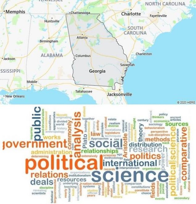 Political Science Schools in Georgia