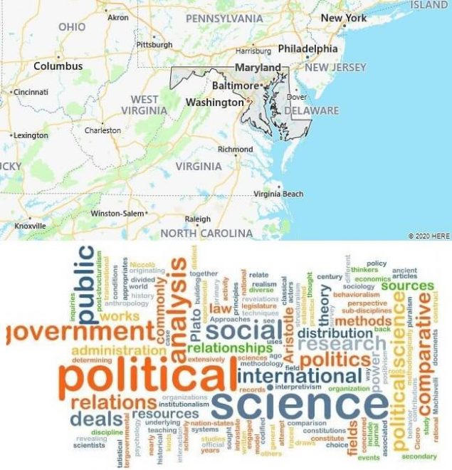 Political Science Schools in Maryland