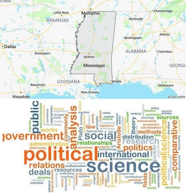 Political Science Schools in Mississippi