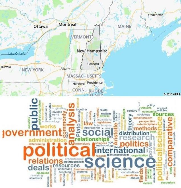 Political Science Schools in New Hampshire