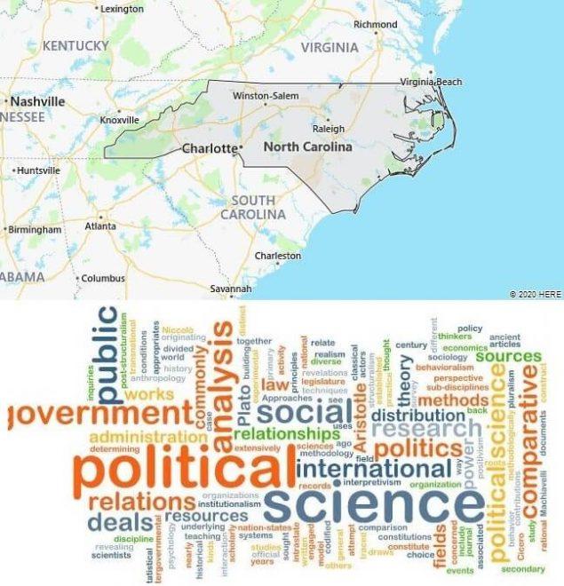 Political Science Schools in North Carolina