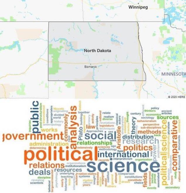 Political Science Schools in North Dakota