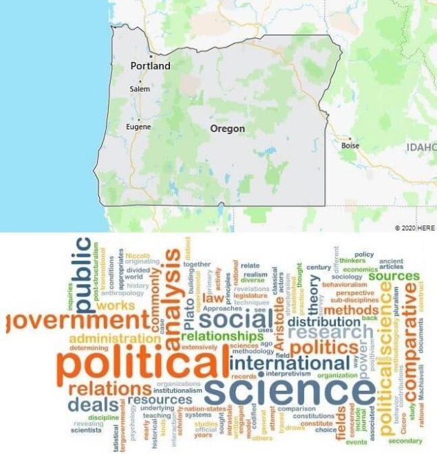 Political Science Schools in Oregon