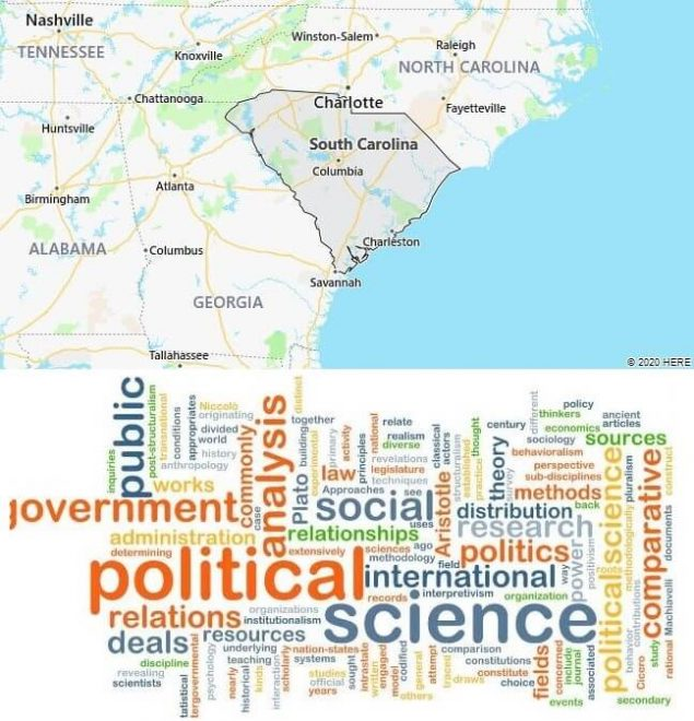 Political Science Schools in South Carolina