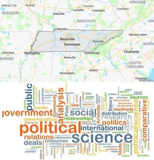 Political Science Schools in Tennessee