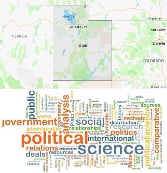 Political Science Schools in Utah