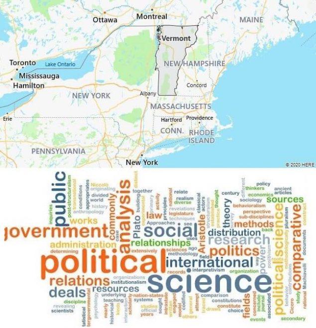 Political Science Schools in Vermont