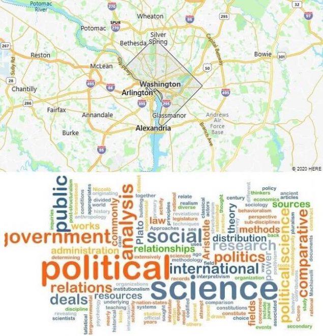 Political Science Schools in Washington DC