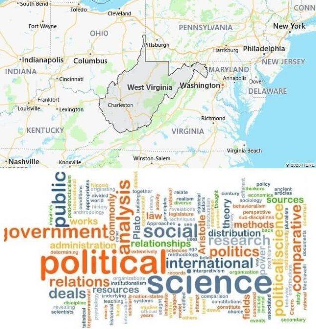 Political Science Schools in West Virginia