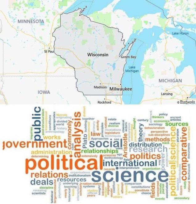 Political Science Schools in Wisconsin