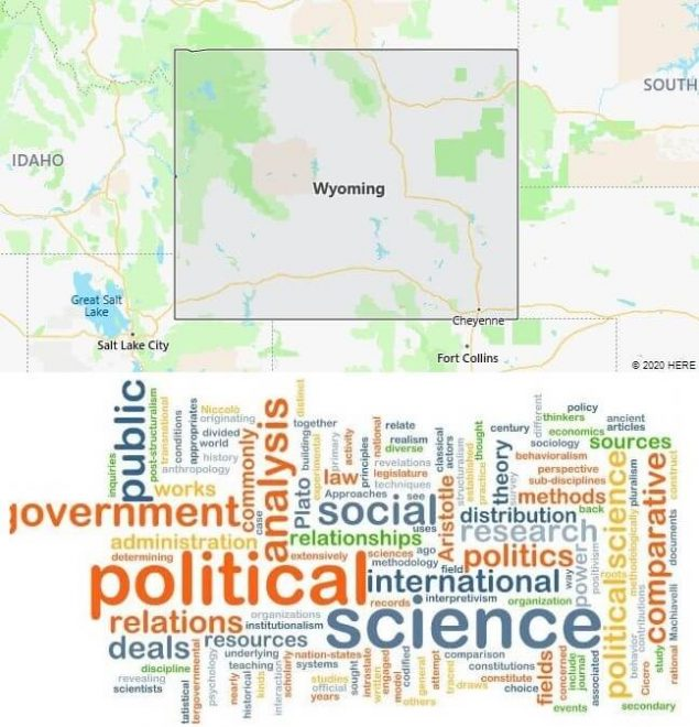 Political Science Schools in Wyoming