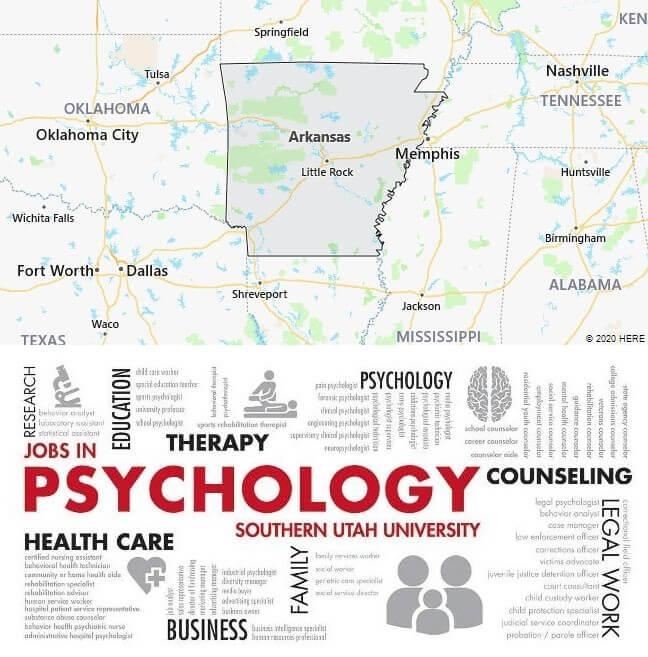 Psychology Schools in Arkansas