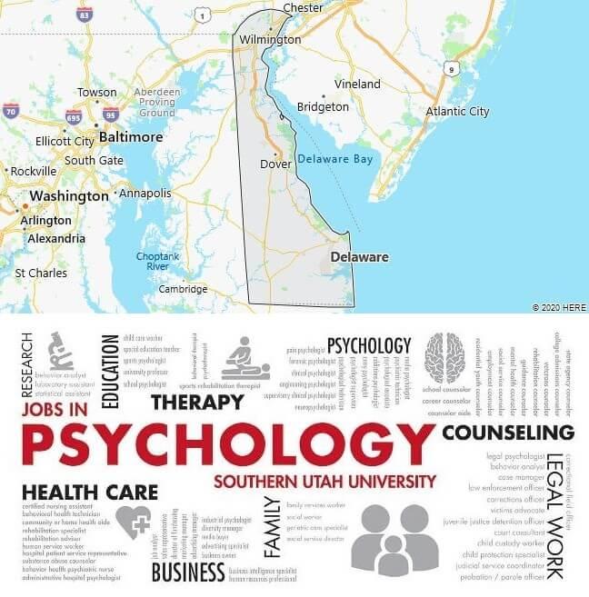 Psychology Schools in Delaware