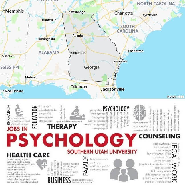 Psychology Schools in Georgia