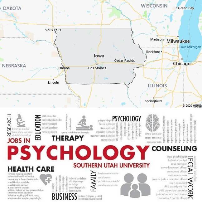 Psychology Schools in Iowa