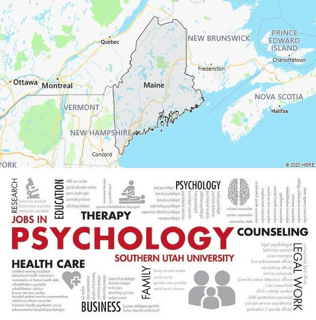 Psychology Schools in Maine