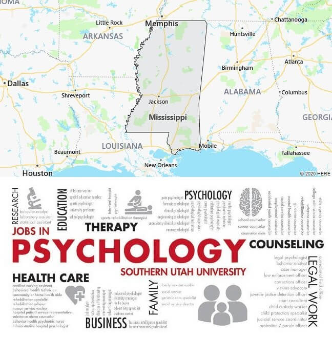 Psychology Schools in Mississippi
