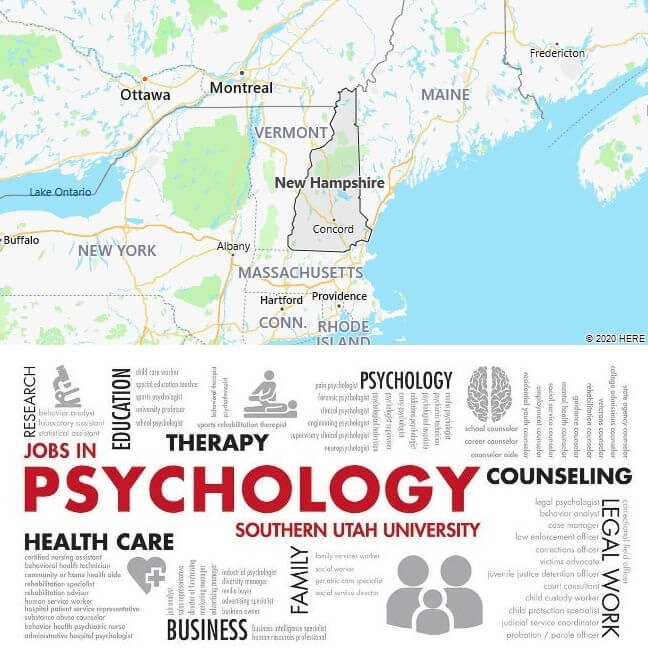 Psychology Schools in New Hampshire